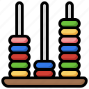 abacus, kid, and, baby, calculating, mathematical, education