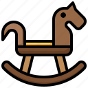 rocking, horse, chair, baby, kid, and, rocker
