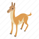 animal, deer, hooves, isometric, logo, object, young
