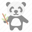 animal, bear, panda, wildlife, zoo icon