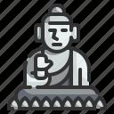 buddha, monument, statue, religion, culture, china, landmark