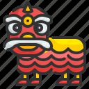 lion, dance, china, culture, festival, celebration, tradition
