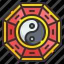 yin, yang, chinese, symbol, culture, taoism, philosophy