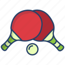 table, tennis