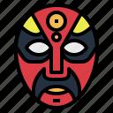 china, chinese, mask, opera