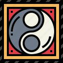 belief, cultures, religion, yang, yin, yin yang