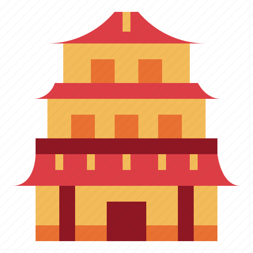 architecture, building, china, cultures icon