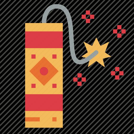 carnival, celebration, firecracker, firework icon