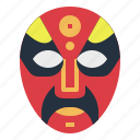 china, chinese, mask, opera icon