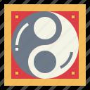 belief, cultures, religion, yang, yin, yin yang icon