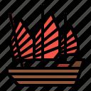 boat, china, cruise, ship, transportation icon