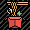 box, chinese, hot, noodle, ramen icon
