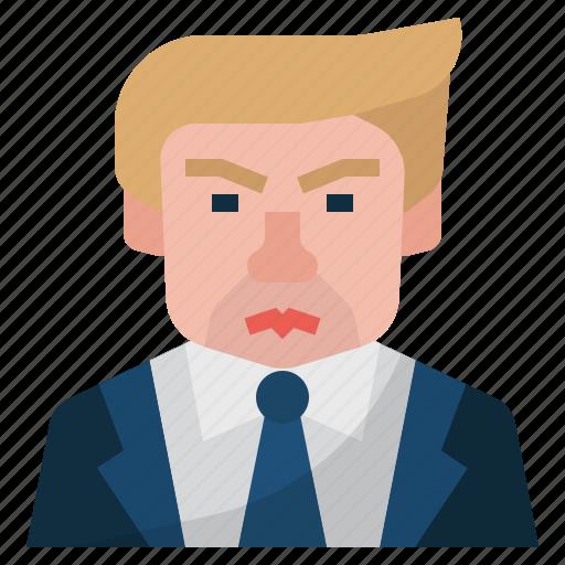 american, china and us trade war, donald trump, us president, usa icon