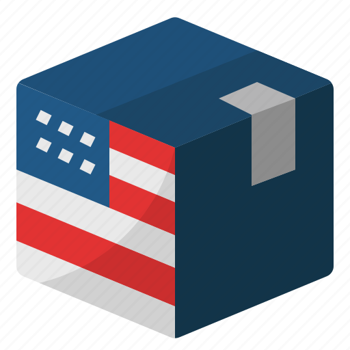 ade in usa, china and us trade war, export, product, trade, united states, usa icon