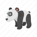 animal, asia, cartoon, character, cheerful, cute, panda icon