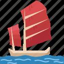 sailboat, ship, vessel, nautical, sea