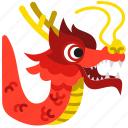 celebration, chinese, chinese new year, dance, dancing, dragon, show icon
