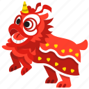 celebration, chinese, dance, dancing, lion, special event, chinese new year