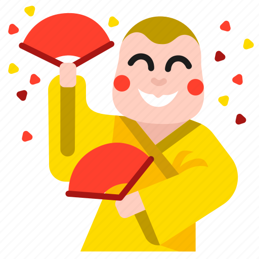 boy, celebration, chinese, dance, dancing, funny, lion icon