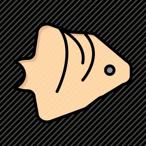 banner, coral, fish, ocean, schooling icon