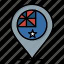 australia, country, flag, location, nation icon