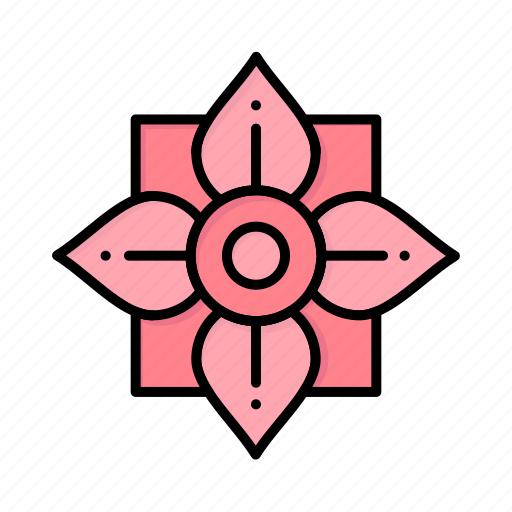 china, chinese, decoration, flower, new, newyear, year icon