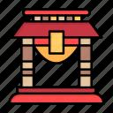 bridge, china, chinese, door, new, newyear, year
