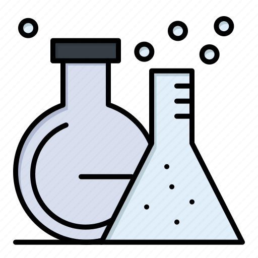 Flask, lab, test, tube icon - Download on Iconfinder