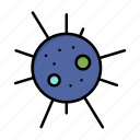 bacteria, disease, virus icon