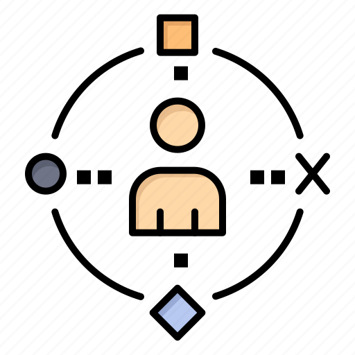 ambient, experiance, technology, user icon