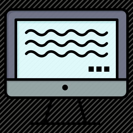 digital, live, streaming icon