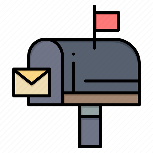 box, email, mail, message icon
