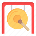 china, chinese, gong, music, new, newyear, year icon