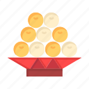 china, chinese, food, fruit, new, newyear, year icon