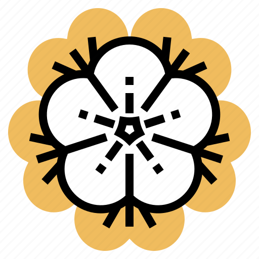 chinese, flower, new, plant, year icon