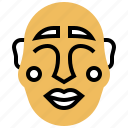 chinese, mask, new, year icon