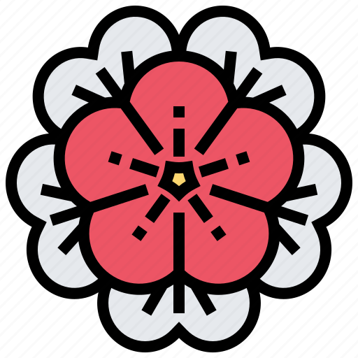 Chinese, flower, new, plant, year icon - Download on Iconfinder