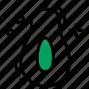 alligator pear, avocado, avocado pear, fruit, pear icon