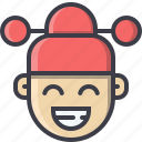 avatar, chinese, imlek, kids, male, new, year icon