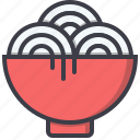 bowl, chinese, food, imlek, new, noodles, year
