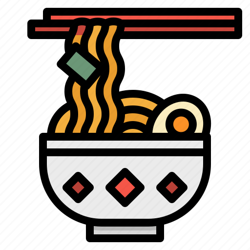 asian, bowl, chinese, food, noodle icon