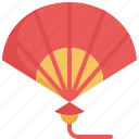 chinese, chinese new year, culture, decoration, fan, wind icon