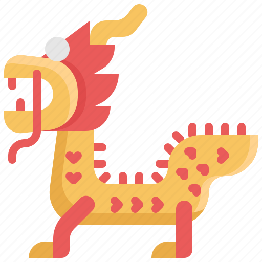 chinese, chinese new year, culture, decoration, dragon icon
