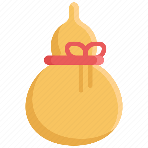 calabash, chinese, chinese new year, culture, decoration icon