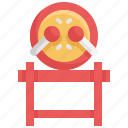 chinese, chinese new year, culture, decoration, drum, music icon