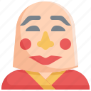 avatar, chinese, chinese new year, culture, decoration, mask, smile icon