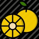 chinese, mandarin, orange, peach, spring icon