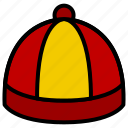 asian, chinese, hat, oriental icon