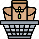 basket, container, festival, prosperity, celebration