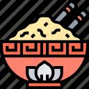 bowl, rice, meal, food, cuisine